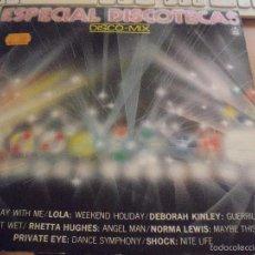 Discos de vinilo: LP ESPECIAL DISCOTECAS, DISCO-MIX. EDICION HISPAVOX DE 1983.. Lote 58522225