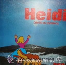 HEIDI CANTA EN ESPAÑOL - DIME ABUELITO / OYE SINGLE RCA DE 1975. RF-1049 , PERFECTO ESTADO (Música - Discos - Singles Vinilo - Música Infantil)