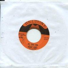 Discos de vinilo: BOBBY LEWIS / ONE TRACK MIND / ARE YOU READY (SINGLE ORIGINAL USA 1961). Lote 58522575