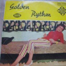 Discos de vinilo: GOLDEN RYTHM EP SEECO TELEFUNKEN 195? LOLA FLORES LIMOSNA DE AMORES + LEO MARINI +2 RARO. Lote 58524677