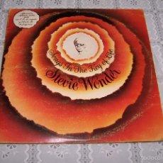 Disques de vinyle: DOBLE LP STEVIE WONDER. SONGS IN THE KEY OF LIFE.. Lote 58528688