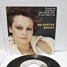 Discos de vinilo: DISCO SINGLE DE ROCIO DURCAL. PROMOCION STARLUX. Lote 58530148