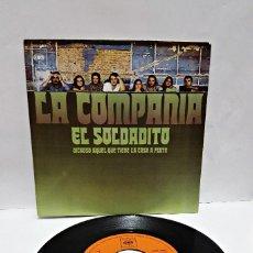 Discos de vinilo: DISCO DE VINILO. SINGLE LA COMPAÑÍA. AÑO 1971.. Lote 58530536