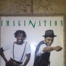Discos de vinilo: IMAGINATION ?– INSTINCTUAL. MAXI EN VINILO.. Lote 58531687