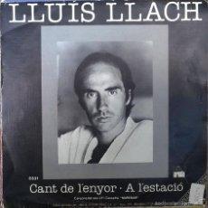 Discos de vinilo: / A L'ESTACIÓ. ARIOLA, SPAIN 1985 (SINGLE PROMOCIONAL) . Lote 58531976