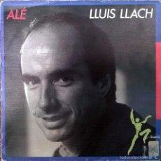 Discos de vinilo: LLUÍS LLACH. ALÉ. ARIOLA, SPAIN 1987 (SINGLE S/SIDED PROMOCIONAL) . Lote 58531996
