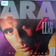 Discos de vinilo: LLUÍS LLACH. EL BANDOLER. PICAP, SPAIN 1992 (SINGLE S/SIDED PROMOCIONAL). Lote 58532016