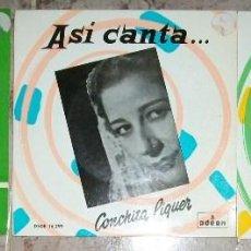 Discos de vinilo: DISCOS (CONHITA MARQUEZ PIQUER) 3 DISCOS. Lote 58532473