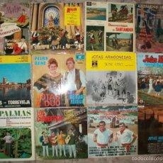 Discos de vinilo: DISCOS (FOLCLORE VARIADO 12 DISCOS). Lote 58532552
