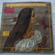Discos de vinilo: JOAN BAEZ ( EL CANCIONERO FOLKLORICO DE JOAN BAEZ ) DOBLE LP33 1973 - SPAIN HISPAVOX. Lote 51938350