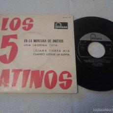 Discos de vinilo: LOS 5 LATINOS – EN LA MONTAÑA DE IMITTOS. Lote 58536600