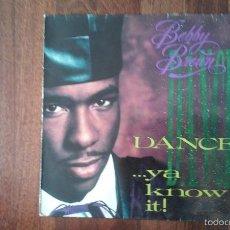 Dischi in vinile: BOBBY BROWN-DANCE!...YA KNOW IT!.LP. Lote 58536621
