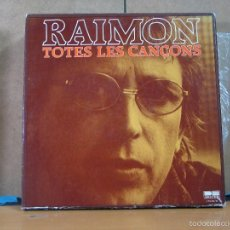 Discos de vinilo: RAIMON - TOTES LES CANÇONS - BELTER ?– 2-58.001/10 - 1981 - 10XLP BOX. Lote 58540038