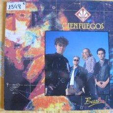 Discos de vinilo: LP - CIENFUEGOS - BESOS (SPAIN, ZAFIRO 1991). Lote 58541747