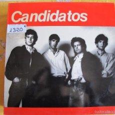 Discos de vinilo: MAXI - CANDIDATOS - NO PUEDOMAS/UNA CANCION QUE ESCUCHE/LA CHICA IDEAL/LEJOS DE AQUI. Lote 58541963