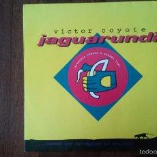 Discos de vinilo: VICTOR COYOTE-JAGUARUNDI.SINTONIA VUELTA ESPAÑA 1995.MAXI. Lote 58542830