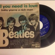 Discos de vinilo: THE BEATLES - ALL YOU NEED IS LOVE - SG- ODEON - DSOL 66.080. Lote 58542831