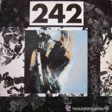 FRONT 242 - OFFICIAL VERSION (LP, ALBUM) SPAIN 1988 + Encarte