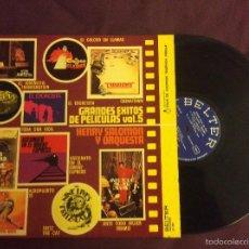 Discos de vinilo: GRANDES EXITOS DE PELICULAS. VOL-5. HENRY SALOMON ORQUESTA . BELTER 1975. Lote 58543633