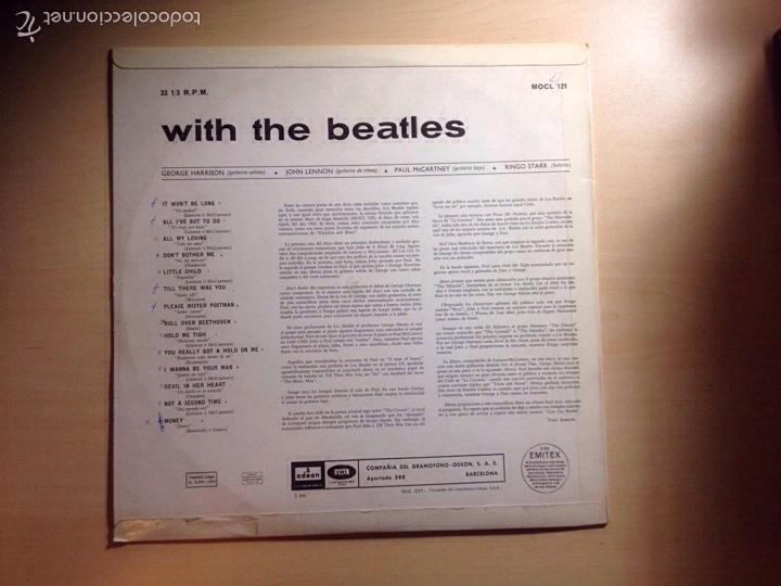 Discos de vinilo: !!! THE BEATLES !!! 3a EDICIÓN WITH THE BEATLES - Foto 2 - 58543741