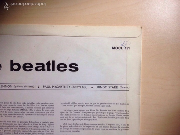 Discos de vinilo: !!! THE BEATLES !!! 3a EDICIÓN WITH THE BEATLES - Foto 3 - 58543741