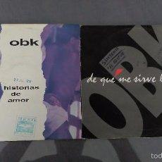 Discos de vinilo: LOTE 2 SINGLES OBK. Lote 58543971