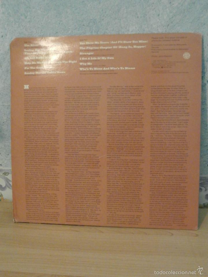 Discos de vinilo: DISCO - VINILO - LP - KRIS KRISTOFFERSON - SONGS OF - COLUMBIA - 1977 - Muy Escaso - Foto 2 - 58546061