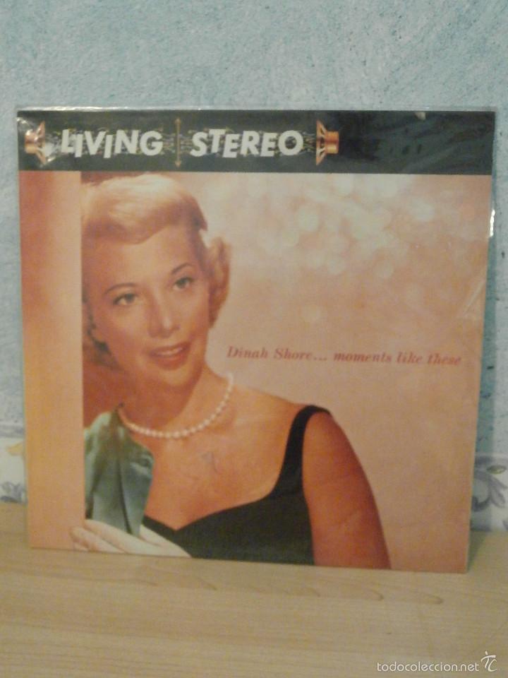 DISCO - VINILO - LP - DINAH SHORE - MOMENTS LIKE THESE - RCA - 1958 - RARO Y ESCASO (Música - Discos - LP Vinilo - Jazz, Jazz-Rock, Blues y R&B)