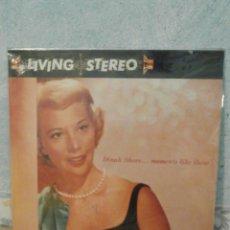 Discos de vinilo: DISCO - VINILO - LP - DINAH SHORE - MOMENTS LIKE THESE - RCA - 1958 - RARO Y ESCASO. Lote 58546216