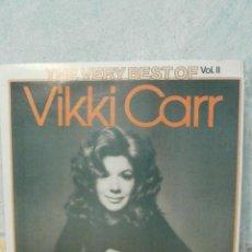 Discos de vinilo: DISCO - VINILO - LP - VIKKI CARR - THE VERY BEST VOL. II - UNITED ARTISTIC RECORDS - 1975 -. Lote 58546526