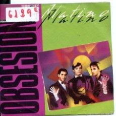 Discos de vinilo: PLATINO / OBSESION (SINGLE PROMO 1983). Lote 58547142