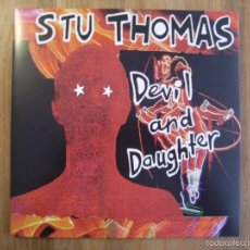 Discos de vinilo: STU THOMAS - DEVIL AND DAUGHTER (LP, LTD) . Lote 58547592