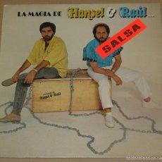 Disques de vinyle: HANSEL & RAUL-LA MAGIA DE HANSEL & RAUL, RCA-PL-71212. Lote 58549489