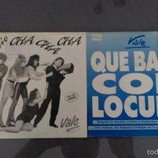 Discos de vinilo: LOTE 2 SINGLES VALE. Lote 58550737