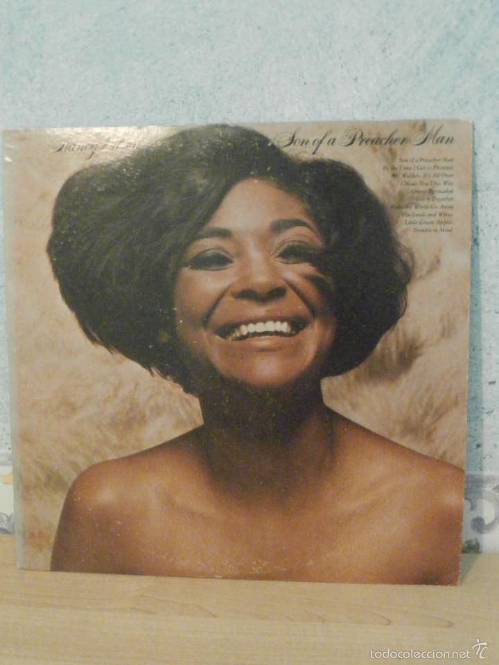 DISCO - VINILO - LP - NANCY WILSON - SONG OF A PREACHER MAN, CAPITOL - 1969 - MUY RARO - ST-234 (Música - Discos - LP Vinilo - Jazz, Jazz-Rock, Blues y R&B)