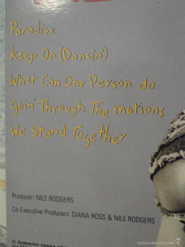 Discos de vinilo: DISCO - VINILO - MAXI SINGLE - DIANA ROSS - WORKING OVERTIME - 1989 - EMI - Foto 4 - 58552701