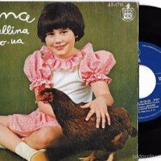Discos de vinilo: ANA: LA GALLINA CO-CO-UA / EL TRENECITO. Lote 58554097