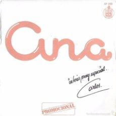 Discos de vinilo: ANA: QUERÍA UN GATO NEGRO / CHARLESTON. Lote 58554163