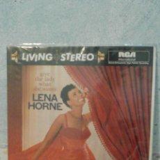 Discos de vinilo: DISCO - VINILO - LP - LENA HORNE - GIVE THE LADY WHAT SHE WANTS - RCA - 1960 -. Lote 58554805