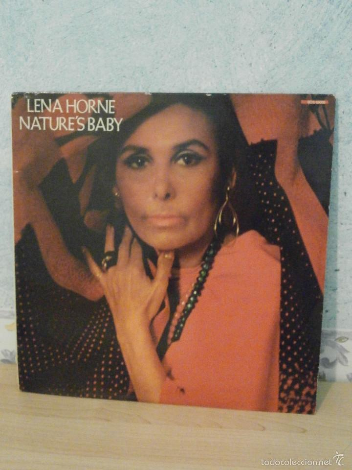 DISCO - VINILO - LP - LENA HORNE - NATURE'S BABY - BUDDAH RECORDS - 1985 - (Música - Discos - LP Vinilo - Jazz, Jazz-Rock, Blues y R&B)