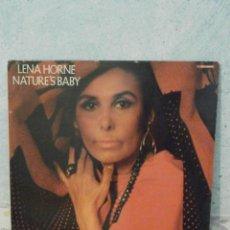 Discos de vinilo: DISCO - VINILO - LP - LENA HORNE - NATURE'S BABY - BUDDAH RECORDS - 1985 -. Lote 58555158