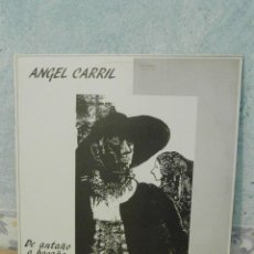 Discos de vinilo: DISCO - VINILO - LP - ANGEL CARRIL - DE ANTAÑO A HOGAÑO - DOBLON - 1983 - FOLKLORE SALMANTINO. Lote 58555290