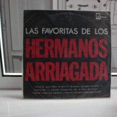Discos de vinilo: DISCO VINILO LP LAS FAVORITAS DE LOS HERMANOS ARRIAGADA. ODEON OLP-421. Lote 58557597