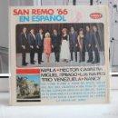 Discos de vinilo: VINILO LP SAN REMO '66 EN ESPAÑOL. VELVET LPV-1271. MIRLA, HECTOR CABRERA, NAIPES.... Lote 58557746