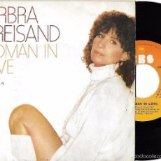 Discos de vinilo: BARBRA STREISAND: WOMAN IN LOVE / RUN WILD. Lote 58559953