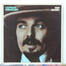 Discos de vinilo: CAPTAIN BEEFHEART - TOP SECRET (LP, BREAKAWAY. 1983). Lote 65782627