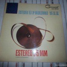 Discos de vinilo: ENOCH LIGHT ESTEREO 3 DIMENSION 35 MM 1964. Lote 58561431