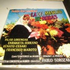 Discos de vinilo: TRAST- DISCO GRANDE 12 PULGADAS VINILO PABLO SOROZABAL LA DEL MANOJO DE ROSAS PILAR. Lote 58561878