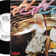 Discos de vinilo: DOLLY PARTON: STARTING OVER AGAIN / SWEET AGONY. Lote 58566340