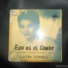 Discos de vinilo: DISCO ESO ES EL AMOR LATIN COMBO. Lote 58569261